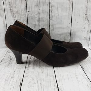 Paul Green Munchen suede mary jane pumps 11
